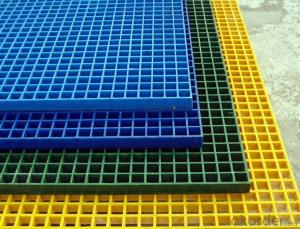 FRP Grating for Walkway with Green Color