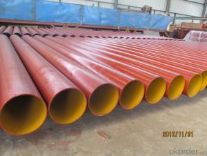 EPOXY DRAINAGE CAST IRON PIPE