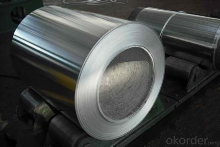 Aluminum coil for roofing