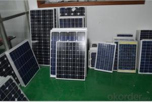 Blue monocrystalline Silicon solar panel 210W   suitable for any solar led street light