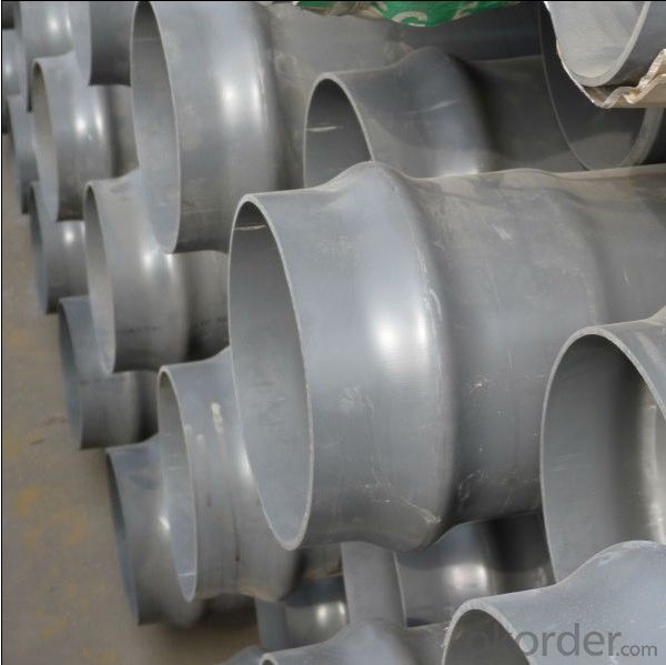 DN315mm High impact PVC Pipe for water supply