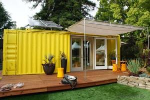 Luxury prefabricated container house