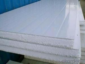 Ceramic fiber sandwich panel/pu sandwich panel for wall /pu foam sandwich roof panel