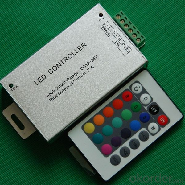 Aluminum shell IR 24 keys RGB controller
