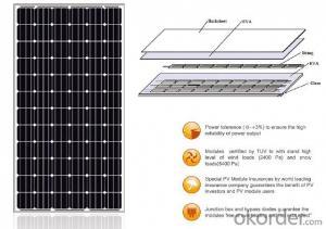 Solar Panel 300/305/310/315/320/325W