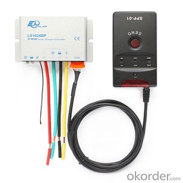Warterproof PWM Solar Charge Controller 10A,12/24V, LS1024BP
