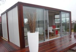 Prefabricated shipping containers shops, cafes