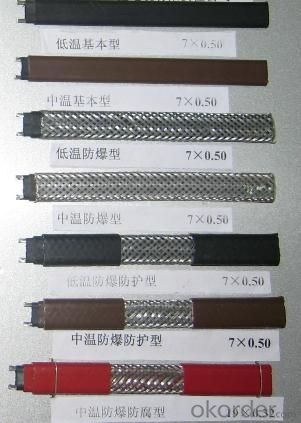 TY-ZBR Self -regulating Heating Cable