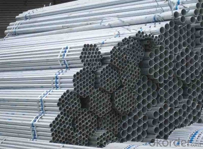 Hot dipping galvanized iron pipe for gas