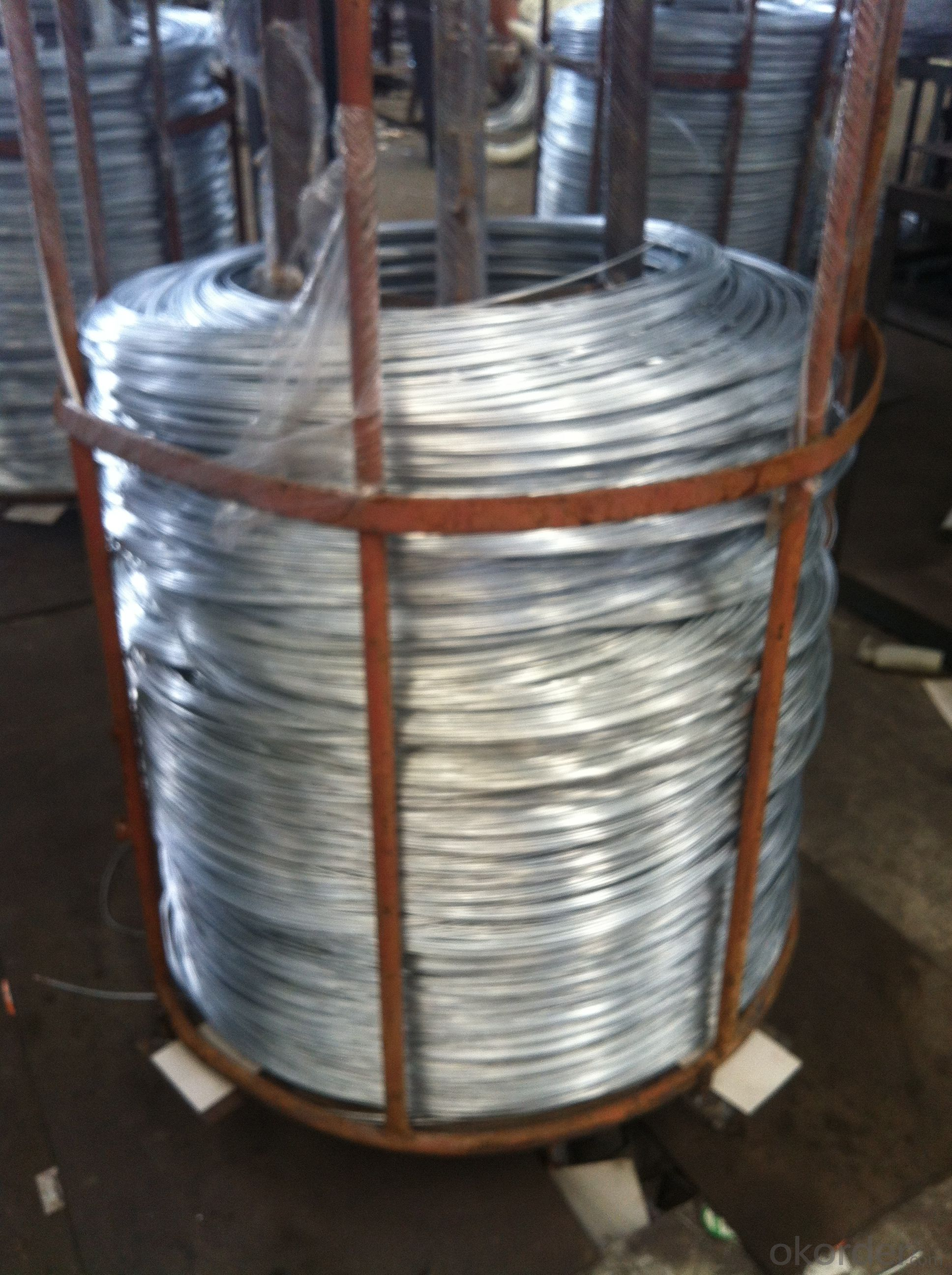 Lightly Galvanised Iron Wire