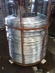 Lightly Galvanised Iron Wire For Pvc Coated Wire