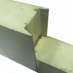 Polyurethane panel with fire resistance