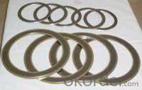 Metal graphite spiral wound gasket