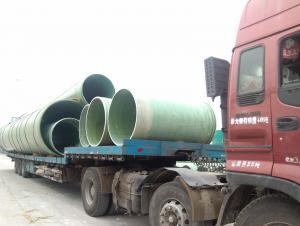 Underground GRP engineering pipe DN1600
