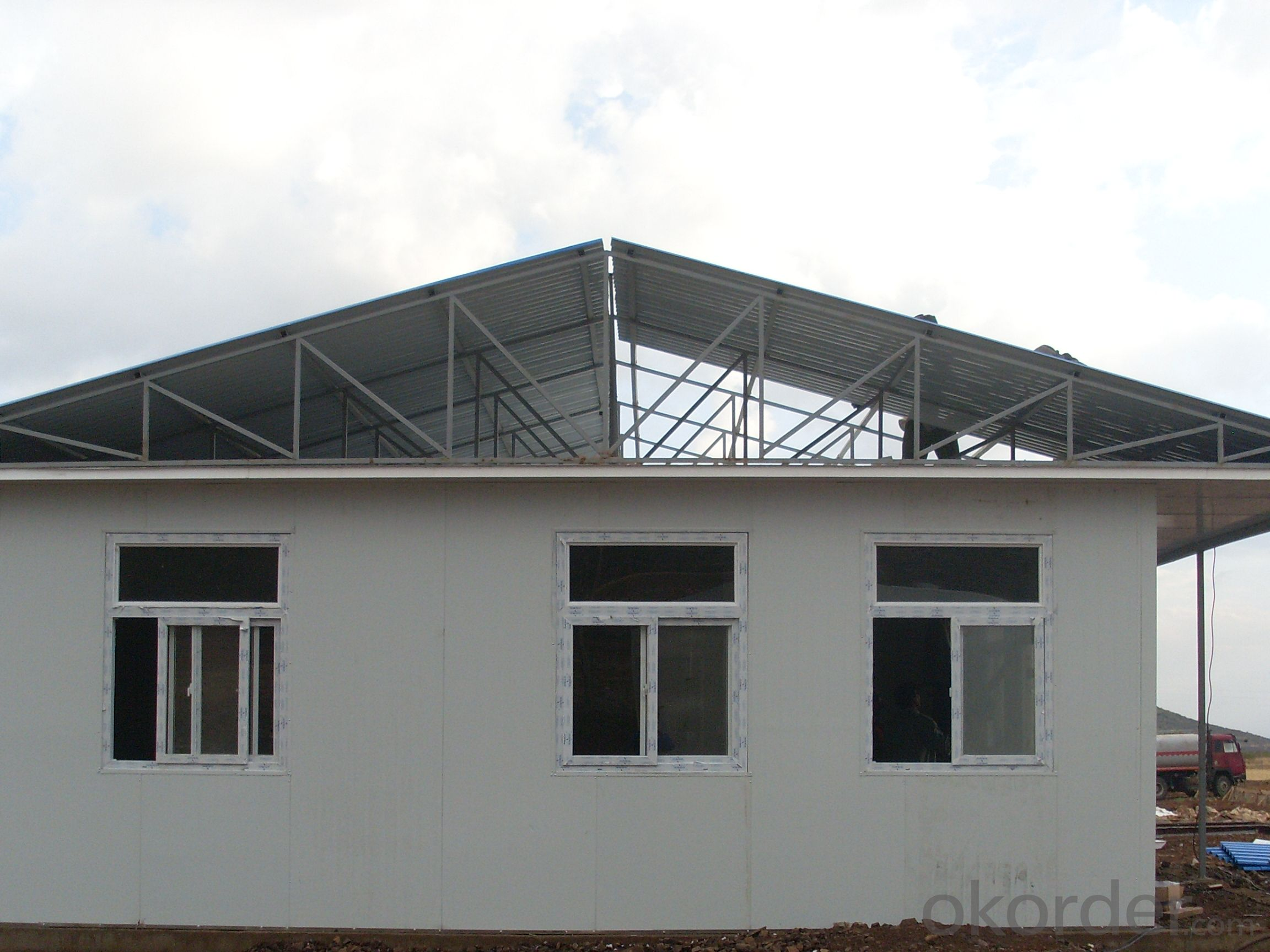 Sandwich Panel House Fireproof Factory Price