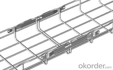 Basket galvanized cable tray