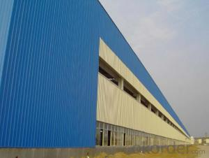Prefabricated House Of Steel Frame System Low Cost Heavy Steel Building Construction