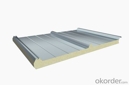 New type of polyurethane roof panel