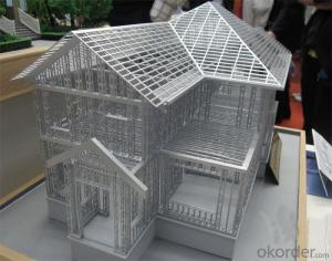 Prefabricated Light Steel House with Low-Rise Buildings