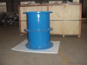 DOUBLE FLANGE PIPE WITH PUDDLE