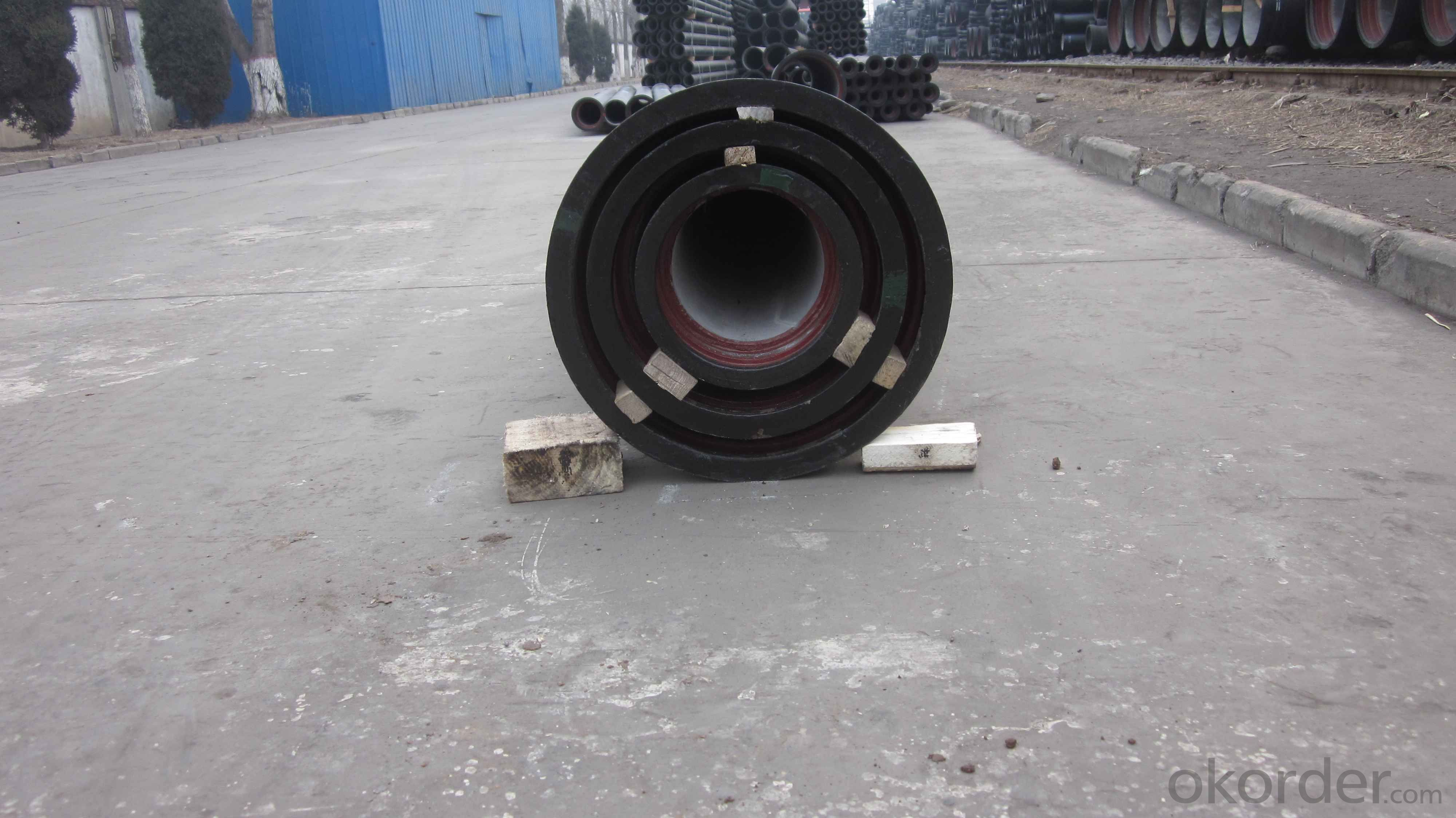DUCTILE IRON PIPE DN80 K9