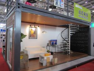 Movable Steel Prefab container House Kits - one bedrooms
