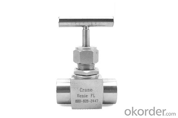 needle valve/check restrictive valve Stainless steel needle valve