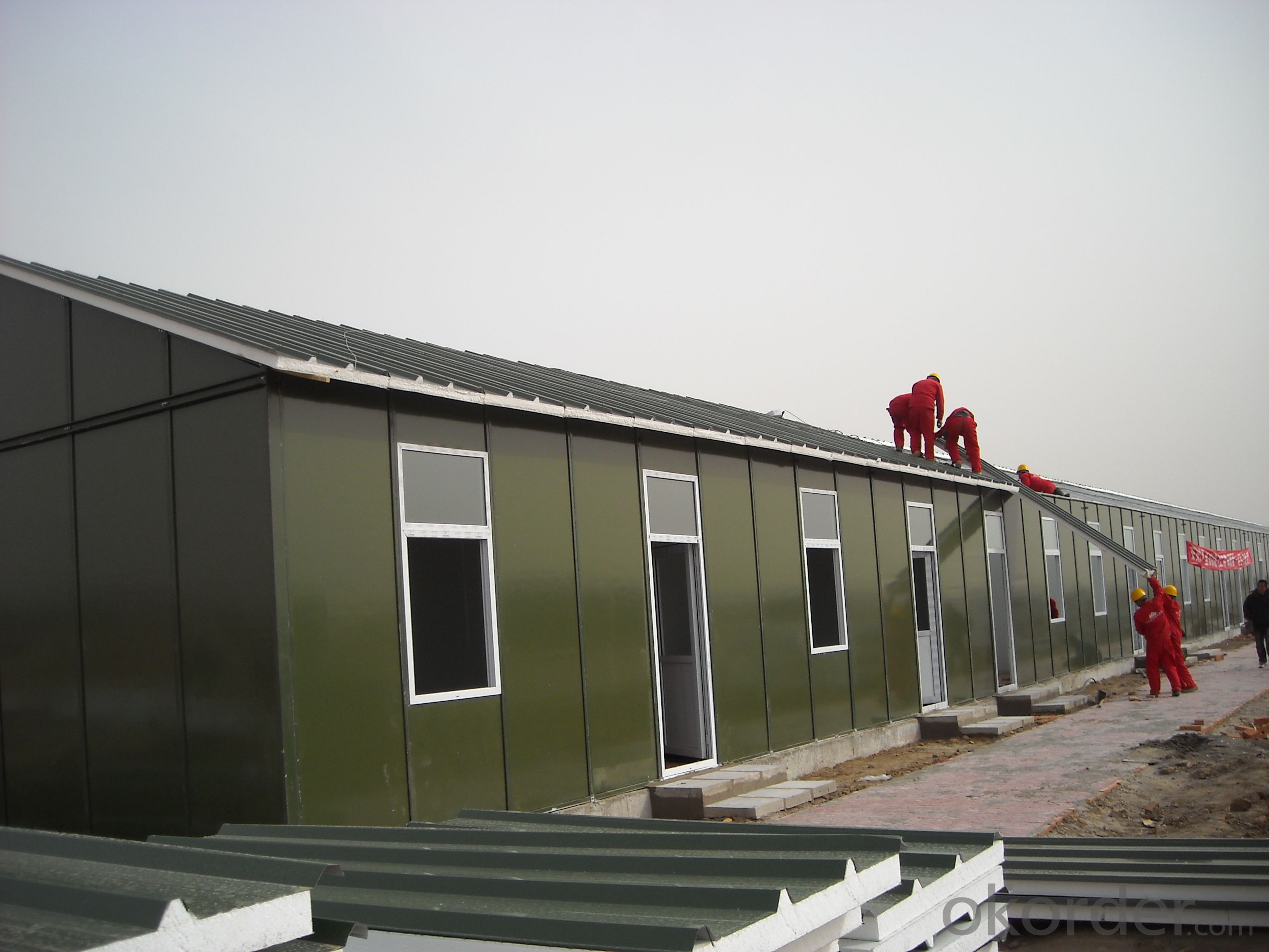 LOW COST SMALL PREFABRICATED CONTAINER HOUSES