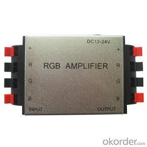 Aluminum clamp RGB Amplifier