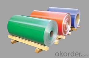 Pre-painted aluminum coil for sandwich panel
