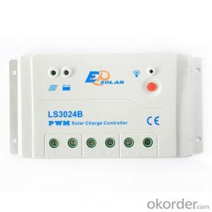 PWM Solar Charge Controller,30A 12/24V,LS3024B