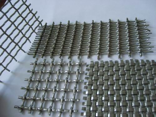 Crimped Wire Mesh for Filtering Customised Size with High Quality