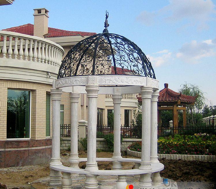 The stone garden pavilion