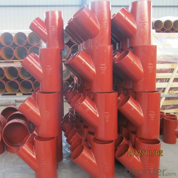 CAST IRON EN877 PIPE AND FITTING
