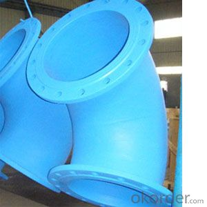 Ductile Iron Bends with Flange
