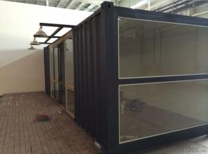 china 20ft and 40ft shipping containers, family luxury holiday house
