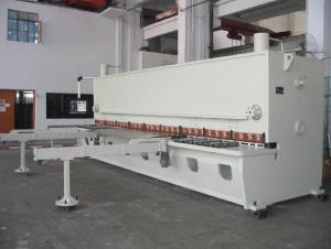 CUTTING MACHINE FOR THE COIL TO THE PLATE