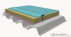 DW flexible waterproof roof system