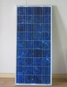 Top supplier high efficiency Poly solar panel 100w