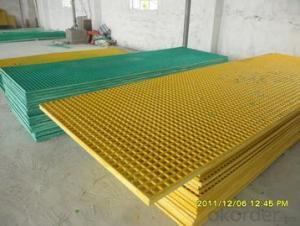FRP Grating, FRP Molded Grating, FRP Fiberglass Plastic Walkway Grating