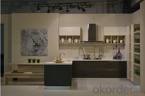 Melamine Kitchen Cabinet-Seine River