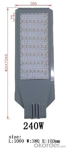 Best quality LED street light 240W