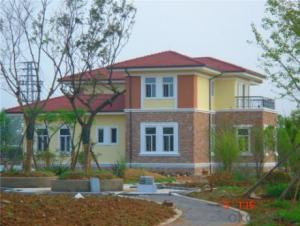 Light steel prefab villa