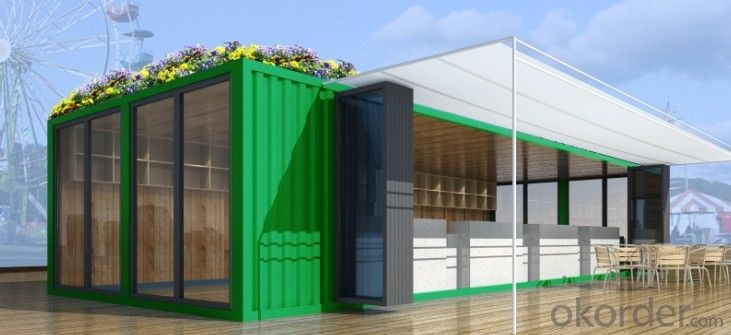 Luxury ocean container prefabricated houses, double Container Store