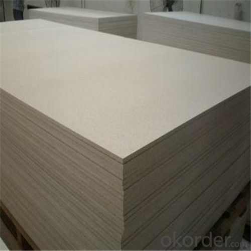 Two Sides Sanding Fiber Cement Board