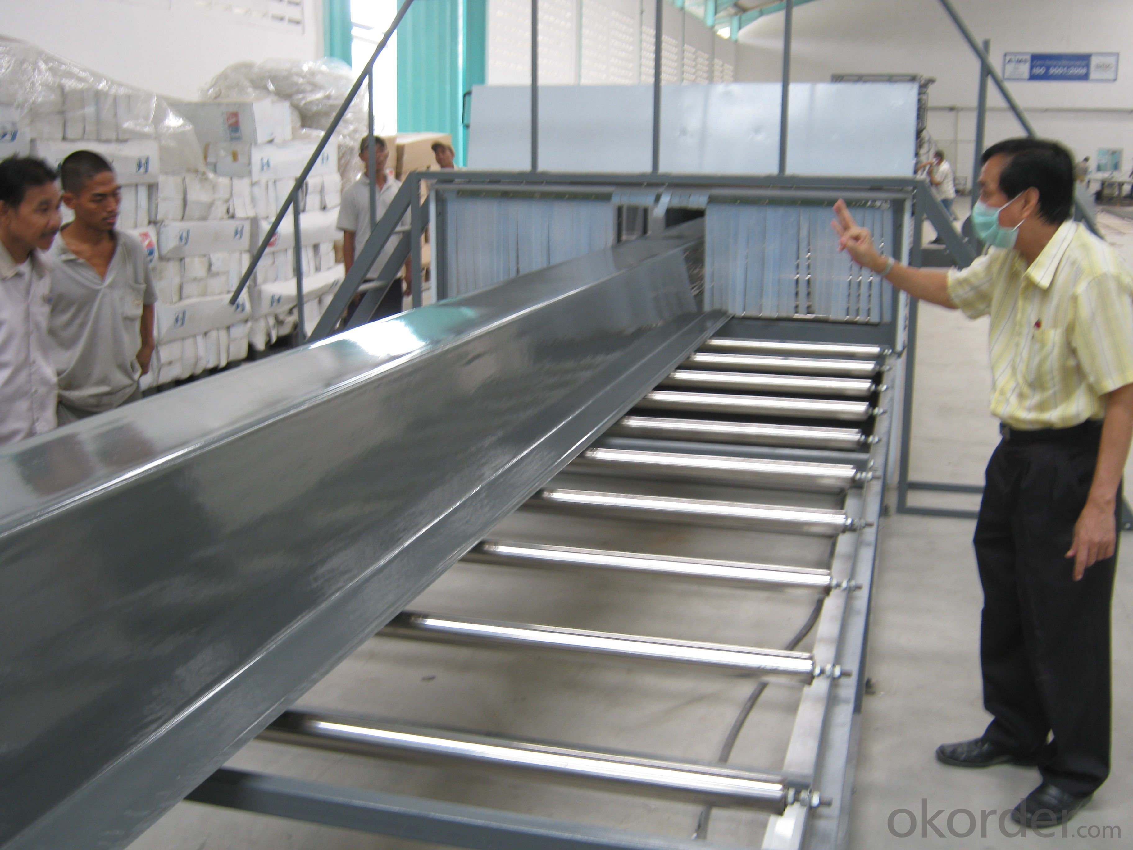 FRP Gulf Roofing Laminating Line