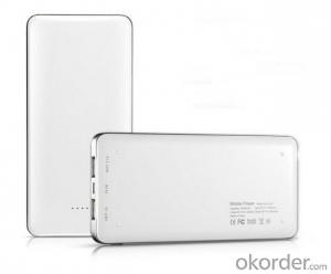 Slim 12000mah large capacity polymer Power Bank
