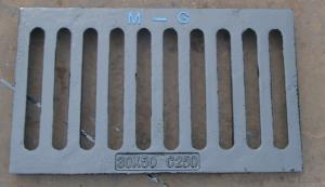 Cast iron sheet perforated strainer