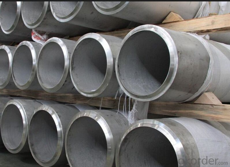 Stainless Seamless Round Hot Rolled Pipe