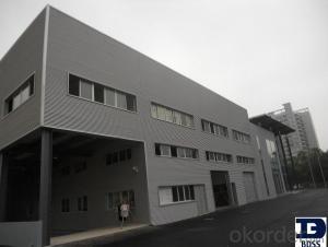 steel structure car showroom